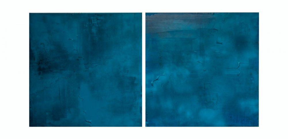 Blue Lagoon - by artist William Solomon