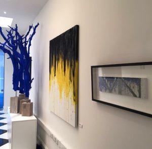 Exhibition - by artist William Solomon